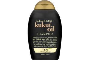 OGX Hydrate + Defrizz Kukui Oil Shampoo