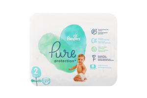 Подгузники детские 4-8кг Pure protection Pampers 27шт