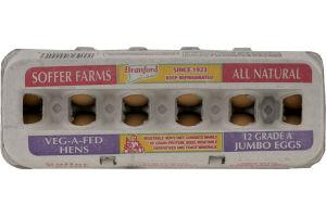 Soffer Farms Brown Eggs Jumbo