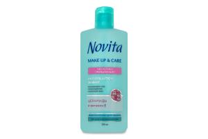 Молочко для обличчя очищуюче Make Up&Care Novita 200мл