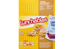 Lunchables Cracker Stackers Ham & American