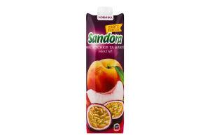 Нектар неосвітлений Мікс персиків та маракуї Exotic Edition Sandora т/п 0.95л