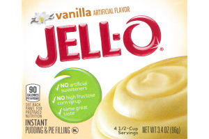 Jell-O Instant Pudding & Pie Filling Vanilla