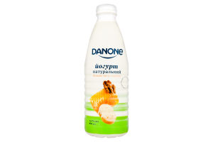 Йогурт 1.5% питний Банан-мед-горіхи Danone п/пл 800г