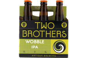 Two Brothers Wobble IPA - 6 PK