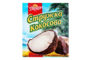 Стружка кокосова Деко м/у 20г