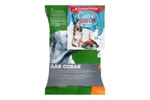 Набор Корм сухой полнорационный для собак 100г+Соус для сухого корма для собак 15мл Для Друга 1шт