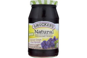 Smucker's Natural Fruit Spread Concord Grape