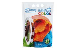 Порошок пральний Color Эфф 2.4кг