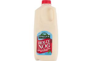 Garelick Farms Lowfat Egg Nog Flavored Dairy Beverage Holly Nog