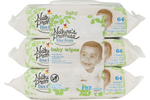 Nature's Promise Baby Wipes - 192 CT