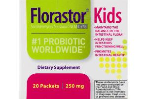 Florastor Kids #1 Probiotic Worldwide Dietary Supplement - 20 CT
