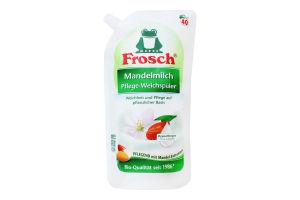 Кондиционер-ополаскиватель для белья Миндальное молочко Frosch 1000мл