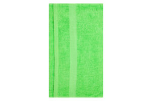 Полотенце махровое зеленое 40х70см 400г/м2 Саффран 1шт