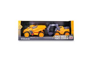 Набір іграшок для дітей від 3 років Самоскид+екскаватор №2416 Volvo Klein 1шт