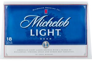 Michelob Light Beer - 18 PK