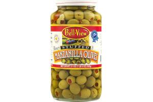 Bell-View Manzanilla Olives Stuffed