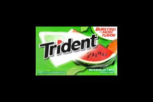 Резинка жевательная Trident арбуз-дыня