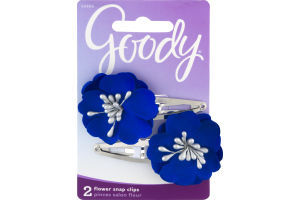 Goody Flower Snap Clips - 2 CT