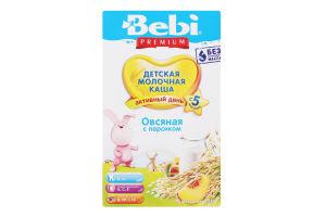 Каша молочна для дітей від 5міс Вівсяна з персиком Premium Bebi к/у 250г