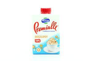 Сливки 10% MilkLife Premialle 200г т/п