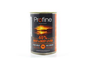 Корм Profine для собак яловичина та печінка ж/б 400г