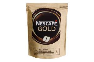 Кава натуральна розчинна сублімована Gold Nescafe д/п 210г
