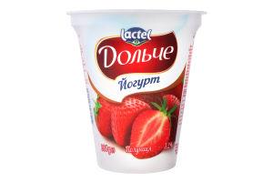 Йогурт 3.2% Полуниця Дольче ст 280г