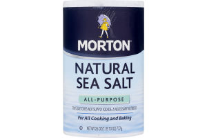 Morton Natural Sea Salt
