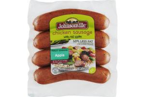 Johnsonville Chicken Sausage Apple - 4 CT
