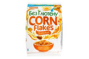 Хлопья кукурузные с медом и арахисом Nestle Gold м/у 500г