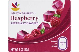 Ahold Gelatin Dessert Raspberry