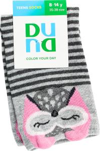 Шкарпетки дитячі Duna №4004 22-24 світло-сірі