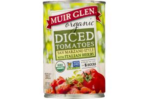 Muir Glen Organic Diced Tomatoes San Marzano Style