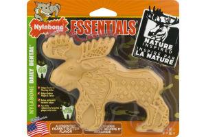 Nylabone Essentials Daily Dental Peanut Butter