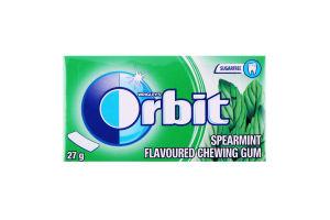 Резинка жевательная без сахара с ароматом мяты Orbit к/у 27г