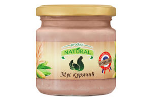 Мусc куриный Natural с/б 180г