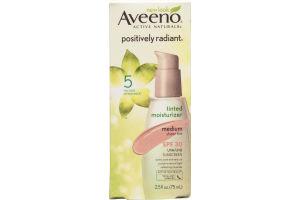 Aveeno Active Naturals Positively Radiant Tinted Moisturizer Medium