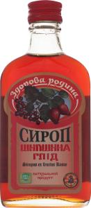 Сироп шипшина, глід Здорова родина с/пл 200мл