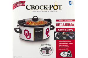 Crock-Pot University of Oklahoma - 6 Quart