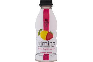 Trimino Protein Infused Water Strawberry Lemonade