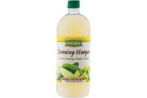 White House Canning Vinegar Bread & Butter Recipe