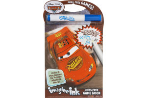 Imagine Ink Disney Cars Mess Free Game Book