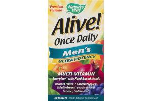 Nature's Way Alive! Men's Multi-Vitamin - 60 CT