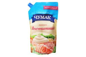 Майонез 30% Аппетитный Чумак д/п 600г