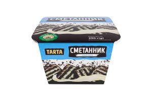 Торт бісквітний Сметанник Tarta п/у 290г