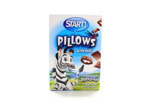 Подушечки молочная начинка Start 250г