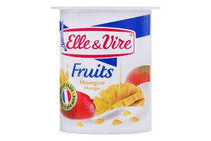 Десерт молочний 1.5% з манго Elle&Vire ст 125г