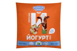 Йогурт 2.5% Персик Формула смаку м/у 450г