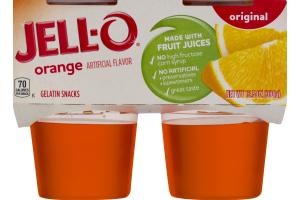 Jell-O Original Orange - 4 CT